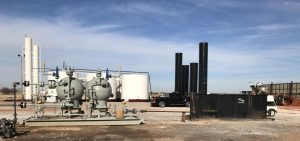 early production well phase desanding